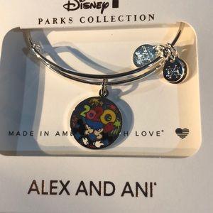 Alex and Ani Disney park bracelet